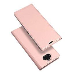 DUX DUCIS Skin Pro Flipes tok telefon tok Sony Xperia 10 Plus rózsaszín