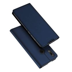 DUX DUCIS Skin Pro Flipes tok telefon tok Huawei P smart 2019 kék