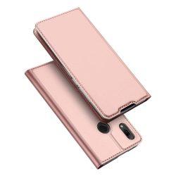 DUX DUCIS Skin Pro Flipes tok telefon tok Huawei P smart 2019 rózsaszín