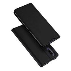 DUX DUCIS Skin Pro Flipes tok telefon tok Huawei P30 fekete