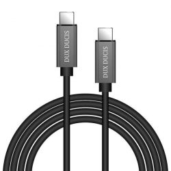 Dux Ducis iii k Huzal USB-C / USB-C 5V 3A 1M fekete