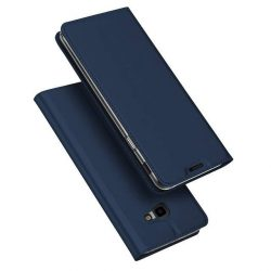 DUX DUCIS Skin Pro Flipes tok telefon tok Samsung Galaxy J4 Plus 2018 J415 kék