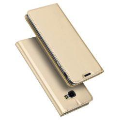 DUX DUCIS Skin Pro Flipes tok telefon tok Samsung Galaxy J4 Plus 2018 J415 arany
