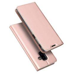 DUX DUCIS Skin Pro Flipes tok telefon tok Samsung Galaxy J6 Plus 2018 J610 rózsaszín
