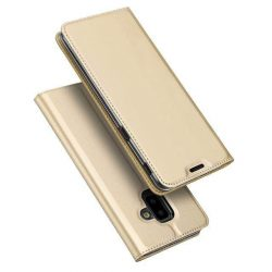 DUX DUCIS Skin Pro Flipes tok telefon tok Samsung Galaxy J6 Plus 2018 J610 arany