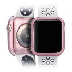 DUX DUCIS 2x Gel telefon tok hátlap tok TPU Cover Apple Watch 4 40mm rózsaszín és átlátszó