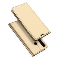DUX DUCIS Skin Pro Flipes tok telefon tok Samsung Galaxy A9 2018 A920 arany