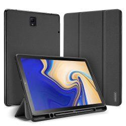 DUX DUCIS Domo składany pokrowiec etui na tablet z funkcją smart készenléti podstawka + schowek na rysik Samsung Galaxy Tab S4 10,5 fekete