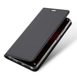 DUX DUCIS Skin Pro Flipes tok telefon tok Huawei Honor Play szürke