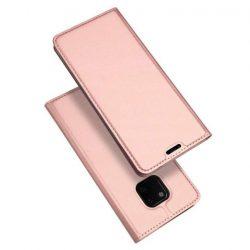 DUX DUCIS Skin Pro Flipes tok telefon tok Huawei Mate 20 Pro rózsaszín