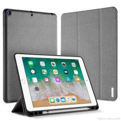 DUX DUCIS Domo składany pokrowiec etui na tablet z funkcją smart alvó podstawka + schowek na rysik Apple iPad 9,7 2018 / 9,7 2017 szürke