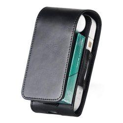 Dux Ducis elegáns tok telefontok az elektronikus cigaretta IQOS fekete