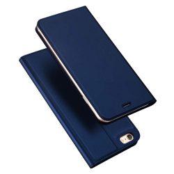 DUX DUCIS Skin Pro Flipes tok telefon tokú telefon tok telefontok iPhone SE / 5S / 5 kék