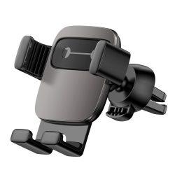 Baseus Cube Gravity Car Mount Air Vent Phone Bracket tartó fekete (SUYL - FK01) tok telefon tok hátlap
