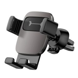 Baseus Cube Gravity Car Mount Air Vent Phone Bracket tartó fekete (SUYL - FK01) telefon tok telefontok