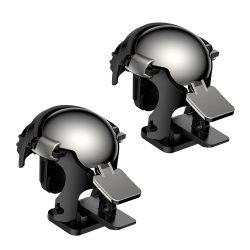 Baseus Level 3 PUBG Helmet markolat extra gombok lökhárítók Smartphone játékosok számára fekete (GMGA03-A01)