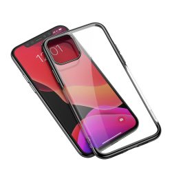 Baseus Shining gél tok iPhone 11 Pro Max fekete (ARAPIPH65S-MD01) telefon tok telefontok (hátlap)