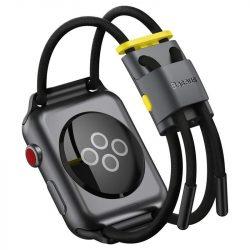 Baseus karkötő csattal sáv Apple Watch 42 mm / 44 mm fekete (LBAPWA4-BGY) telefontok