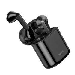 Baseus TWS Encok W09 mini nélküli fülhallgató a Bluetooth 5.0 TWS Fekete (NGW09-01)