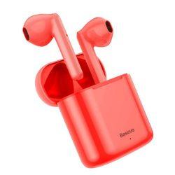 Baseus TWS Encok W09 mini nélküli fülhallgató a Bluetooth 5.0 TWS Red (NGW09-09)