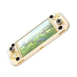 Baseus Ütésálló Konzol védőtok Nintendo Switch Lite Pads kivágások Cat Paw fekete (WISWLT-21) telefontok
