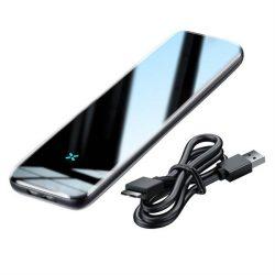 Baseus külső SSD meghajtó M.2 NVME ház tok mikro USB 3.2 Gen 1 (SuperSpeed USB 5 Gbps) B / M + B gomb + kábel szürke (CAYPH-D0G)