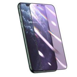 Baseus teljes képernyős 3D-védő fólia 0,25 mm Anti-kék fény szűrő iPhone 11 Pro / iPhone XS / iPhone X fekete (SGAPIPH58S-HB01) telefon védőfólia