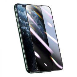 Baseus teljes képernyős 3D-védő fólia 0,25 mm adatvédelem betekintésvédett szűrő iPhone 11 Pro Max / iPhone XS Max fekete (SGAPIPH65S-HC01) telefon védőfólia