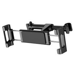 """Baseus Backseat Autós tartó Állítható fejtámasz Konzol táblagépekre és okostelefonokra 4,7 - 12,9"""" fekete (SUHZ - 01) telefon tok telefontok"""