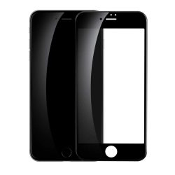 Baseus PET Soft 3D edzett üveg Film Full kijelzőfólia képernyőfólia PET Rim iPhone 8/7 0,23 mm fekete kijelzőfólia üvegfólia tempered glass