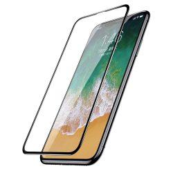 Baseus PET Soft 3D edzett üveg Film Full kijelzőfólia képernyőfólia PET Rim Apple iPhone XS / X 0,23 mm fekete (SGAPIPHX-KA01) kijelzőfólia üvegfólia tempered glass