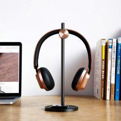 Baseus fejhallgató tartó DB01 szabályozható fejhallgató állvány tartó fekete-arany (SUDB01-01)