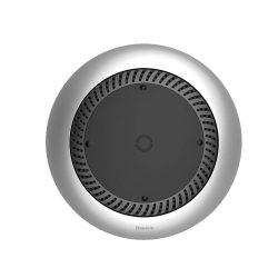 Baseus Forgószél vezeték nélküli töltő asztali Qi töltő beépített ventilátor (CCALL-XU0S) ezüst