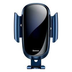 Baseus Future Gravity Car Mount Air Vent Phone Bracket tartó kék (SUYL-WL03)