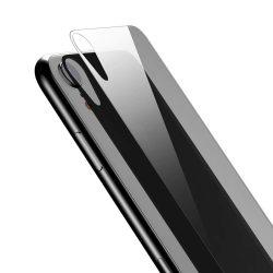 Baseus Teljes edzett üveg hátsó Protector Back Protector for iPhone XR átlátszó (SGAPIPH61-ABM02) kijelzőfólia üvegfólia tempered glass