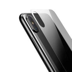 Baseus Teljes edzett üveg hátsó Protector Back Protector for iPhone XS Max átlátszó (SGAPIPH65-ABM02) kijelzőfólia üvegfólia tempered glass
