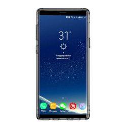 Baseus Légzsák telefon tok hátlap tok Anti-Schock Gel telefon tok hátlap tok TPU Cover Samsung Galaxy Note 9 N960 fekete átlátszó (ARSANOTE9-SF01)