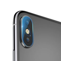 Baseus Camera Lens film üveg 2x edzett üveg 0.2mm Apple iPhone X / XS / XS Max (SGAPIPH65-JT02) kijelzőfólia üvegfólia tempered glass