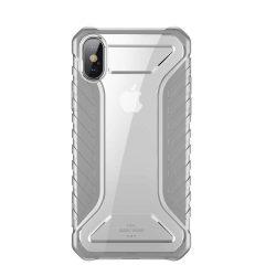 Baseus Michelin telefon tok hátlap tok tervező Cover Apple iPhone XS / X szürke (WIAPIPH58-MK0G)