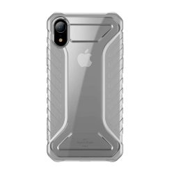 Baseus Michelin telefon tok telefontok tervező Cover Apple iPhone XR szürke (WIAPIPH61-MK0G)