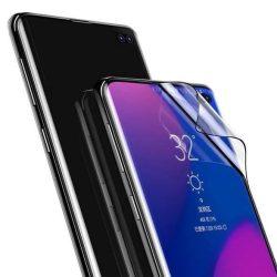 Baseus Teljes képernyős 2x teljes képernyős (full screen) 3D PET képernyővédő fólia 0,15 mm fólia Samsung Galaxy S10 Plus fekete (SGSAS10P-KR01) kijelzőfólia