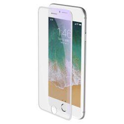 Baseus Teljes képernyős teljes képernyős (full screen) 3D edzett üveg Anti-Blue Light Film hangszóró Dust fólia Apple iPhone 8 Plus / 7 Plus / 6S Plus / 6 Plus fehér (SGAPIPH8P-WB02) kijelzőfólia üvegfólia tempered glass