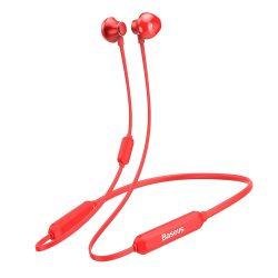 Baseus S11A Encok nyaklánc nélküli fülhallgató a Bluetooth 42 Red (NGS11A - 09)
