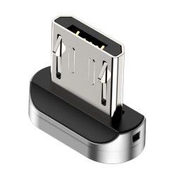 Baseus Cink dugó adapter mágneses USB kábel Micro USB (CAMXC - E)