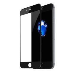 Baseus 0.23mm hajlított képernyős edzett üveg tempered glass tempered glass tempered glass képernyő védő ütésálló élek Az iPhone 8 Plus / iPhone 7 Plus fekete (SGAPIPH8P-GPE01)