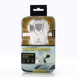 Remax Transformer RM-C26 Teleszkópos Autós tartó Phone Holder Portál vagy a szélvédő fekete