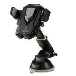 Remax Transformer RM - C26 Teleszkópos Autós tartó Phone Holder Portál vagy a szélvédő fekete tok telefon tok hátlap