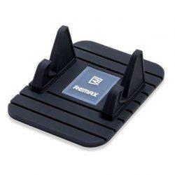 Remax Fairy Szilikon Car Phone Holder Portál asztali állvány fekete telefon tok telefontok