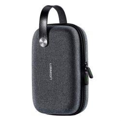 Ugreen Kábel Kiegészítő Storage Bag 20,3 x 12,9 x 7,2 cm-es, szürke (50903 LP152)