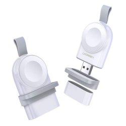 Ugreen Apple Watch USB MPI vezeték nélküli töltő fehér (50944)